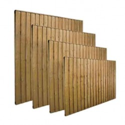 Close board Fence Panel 5ft 6in High