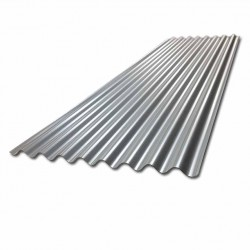 Galvanised corrugated steel roof sheet 5ft