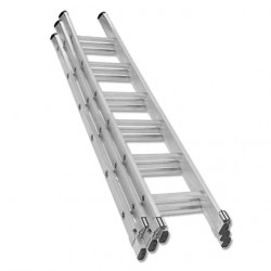 Profesional Trade Extension Ladder 3 Section Aluminium