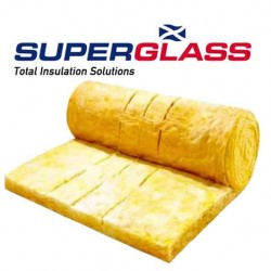 Loft insulation multi roll 100mm Superglass