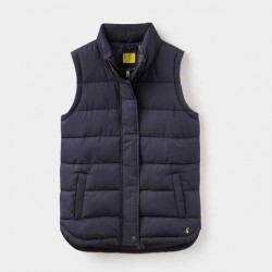 Joules Eastleigh Marine Navy Padded Gilet