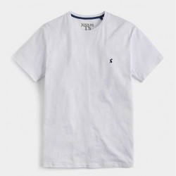 Joules Plain Jersey T-Shirt White