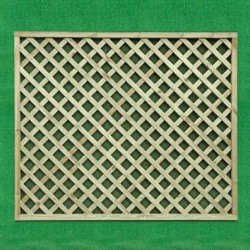 Garden Lattice Panel 1500mm HDL12