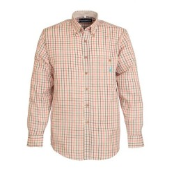 Percussion Ochre Hunting Check Shirt