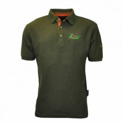 Percussion Embroidered Hunting Shooting Polo Shirt