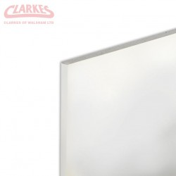 12.5mm x 2400mm x 1200mm Tapered Edge Gyproc Plasterboard