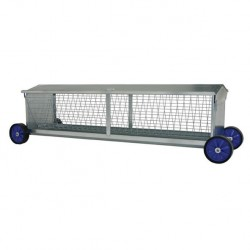 Portable Sheep Hayrack on Wheels 1250mm