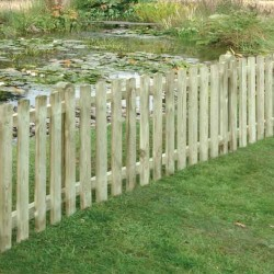 Picket Fence Panel 900mm High