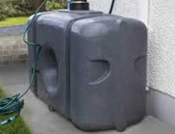 garden water storage tank 700 litre granite