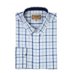 Schoffel Brancaster Light Blue Shirt