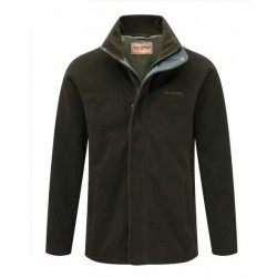 Schoffel Mowbray Windbloc Dark Olive Fleece