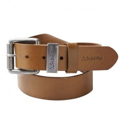 Schoffel Tan Leather Belt