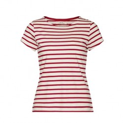 Seasalt Sailor T-Shirt Ecru Rudder