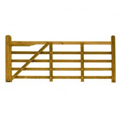 Suffolk Timber Planed Field Gate 2400mm