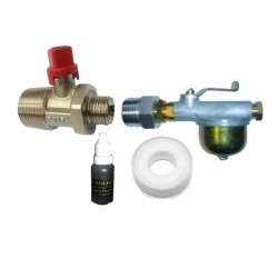 AFV1000 Filter Valve Kit With Ultra Compact Isolation Valve