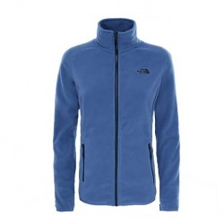 The North Face 100 Glacier Full Zip Fjord BLue