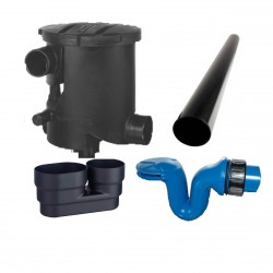 Rainwater Filter Kit B 450m2 Roof Area 254020