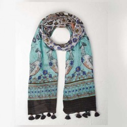 White Stuff Belle Birds Scarf