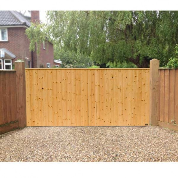 10 ft  VIking Fully Boarded Planed Softwood Gates