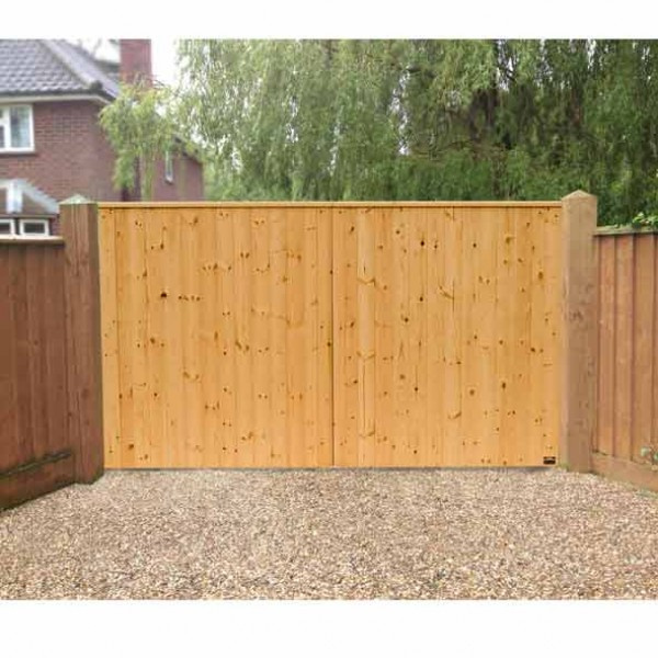 8 ft  VIking Fully Boarded Planed Softwood Gates