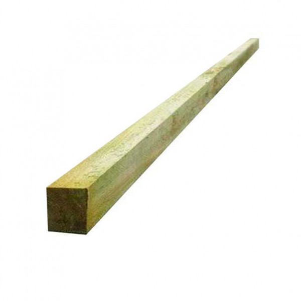 "2"" x 2"" ( 47mm x 50mm) Sawn Softwood Treated Timber"