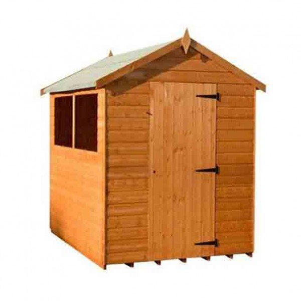 Garden apex sheds 6 x 4 for Garden shed 6 x 4