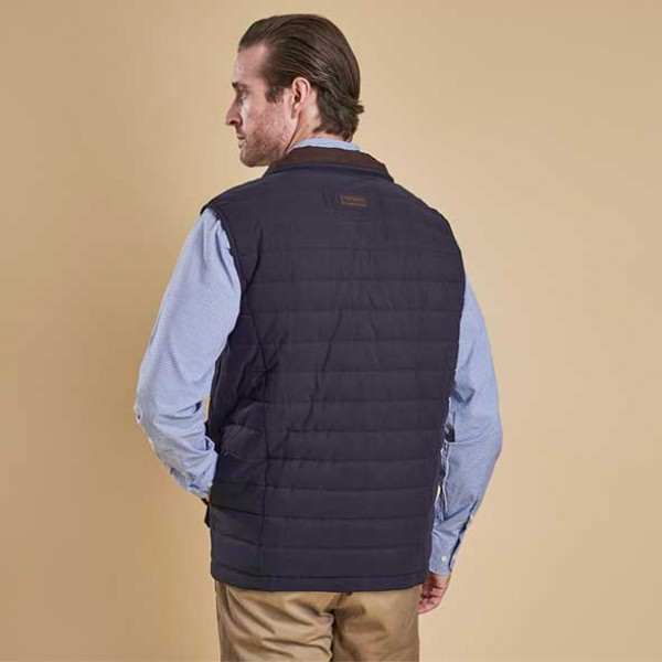 Barbour Avocet Navy Quilted Gilet