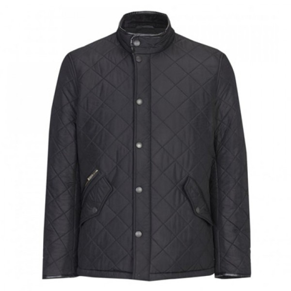 Barbour   Clothing   Jackets   Black Powell Quilted Jacket