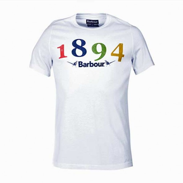 Barbour  Cresswell T-Shirt White