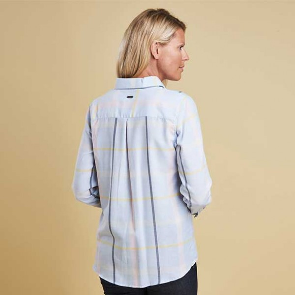 Barbour Orchid Glacier Shirt