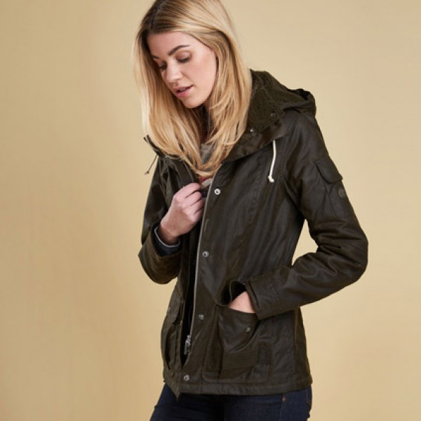 Barbour Ladies Redcliffe Wax Jacket Coat