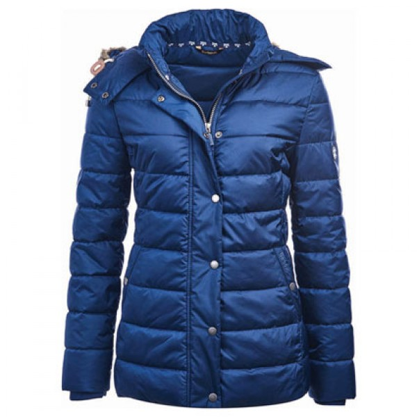 Barbour | Clothing | Jackets | French Navy Shipper Quilted Jacket