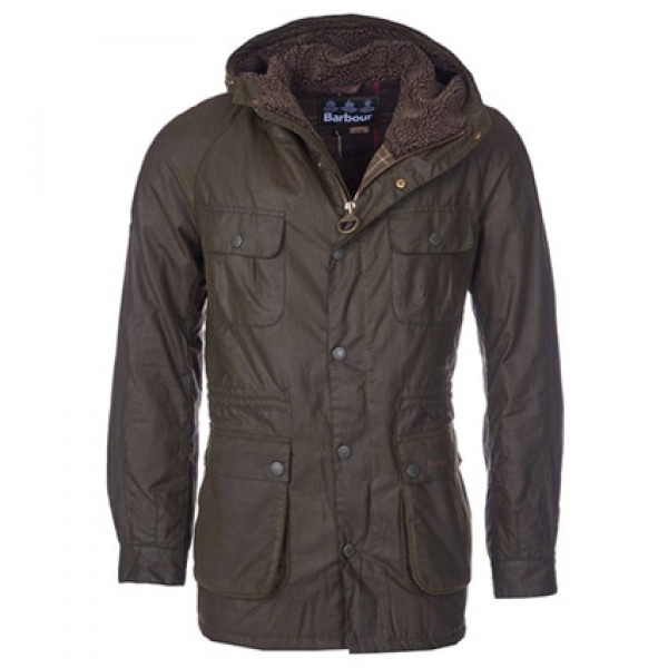 Barbour | Clothing | Jackets | Olive Brindle Wax Jacket