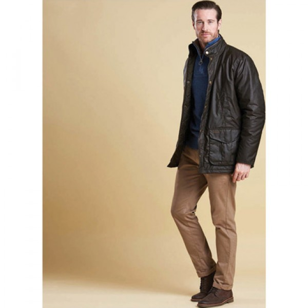 Barbour | Clothing | Jackets | Olive Hereford Jacket