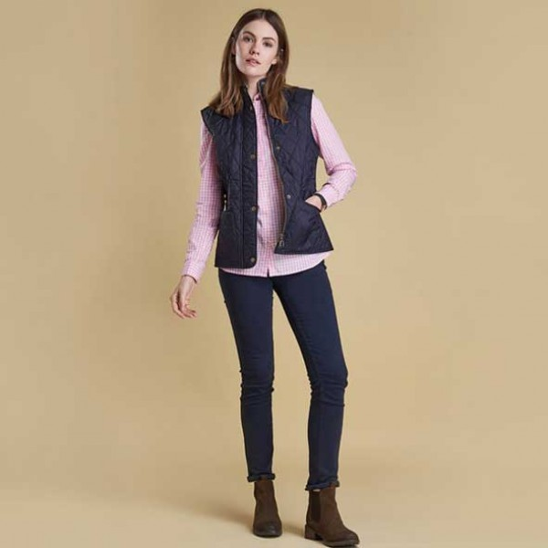 Barbour Summer Liddesdale Quilted Gilet navy