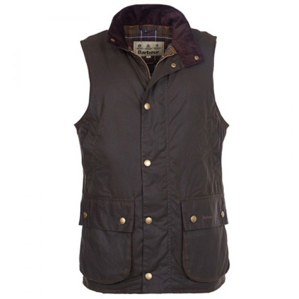 Barbour Westmorland Wax Gilet | Barbour Smart Casual