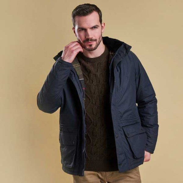 Barbour Woodfold Waterproof Jacket