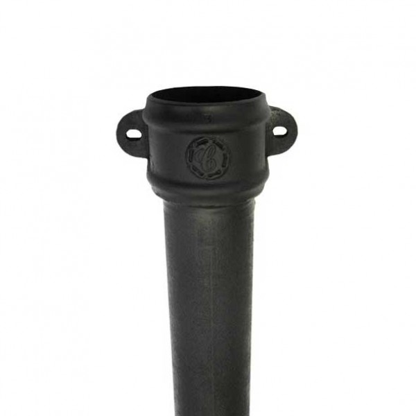 Cast Iron Rainwater Down Pipes Eared 1830mm