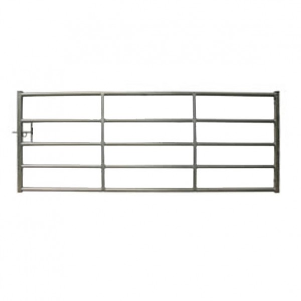 Cattle Yard Galvanised Metal Gate 14ft