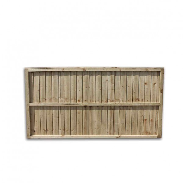 Garden Fence Panel Close Boarded Featheredge board back