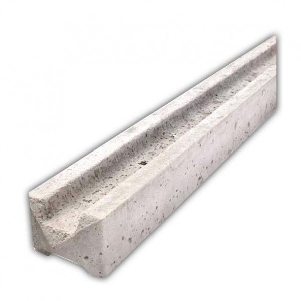 9ft Slotted Concrete Fence Post
