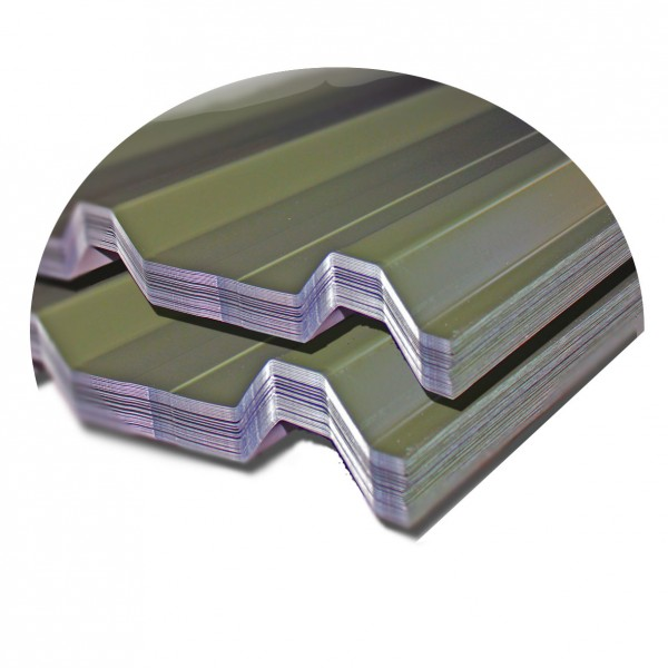 Hi30 Box Cladding Juniper Green Sheets