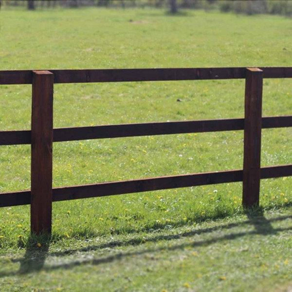 Creosoted paddock fence suppliers Norfolk and Suffolk