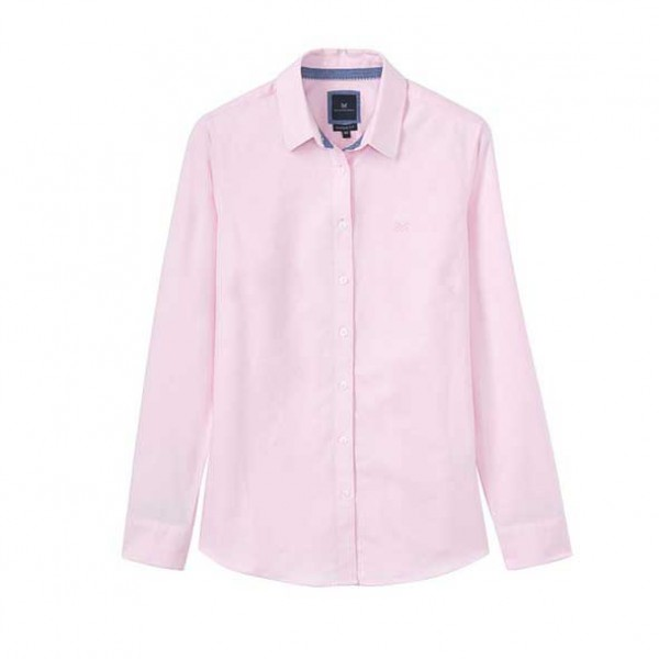 Crew Clothing Classic Oxford Pink Shirt