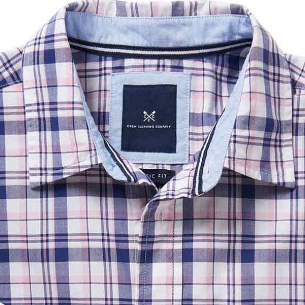 Crew Clothing Mens Westleigh Classic Check Shirt