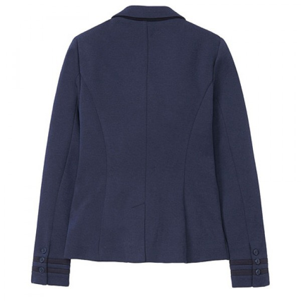 Crew Clothing Ladies Navy Pavillion Jersey Blazer