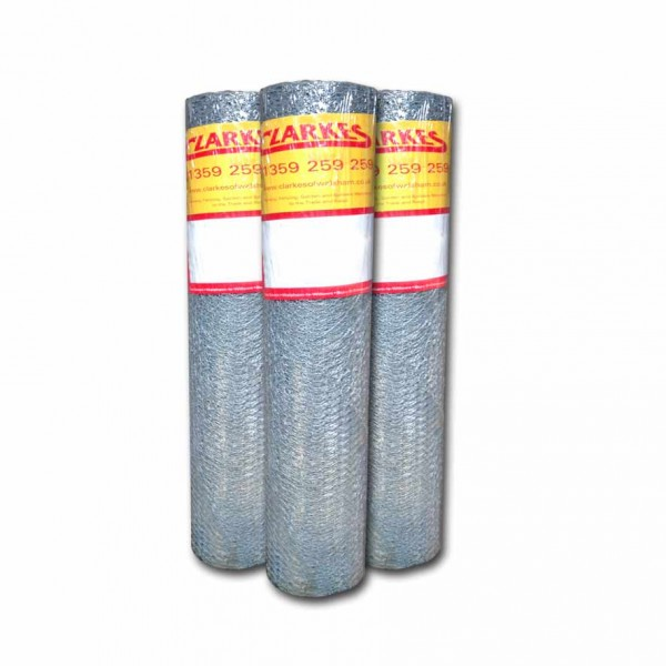 Economy wire netting fencing rolls