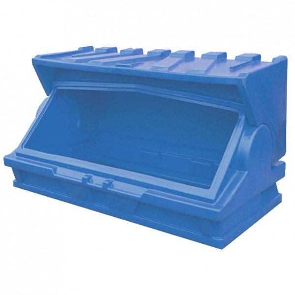 Plastic Forecourt Or Shop Storage Bunker Blue Clarkes Of