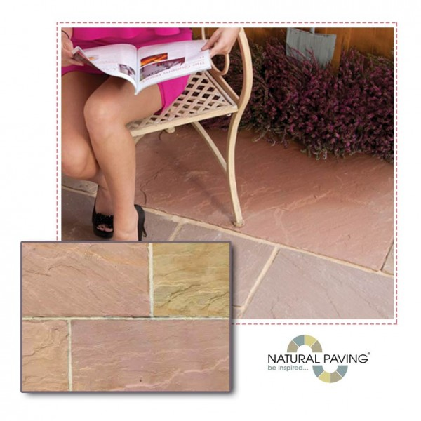 Heather paving slab project pack