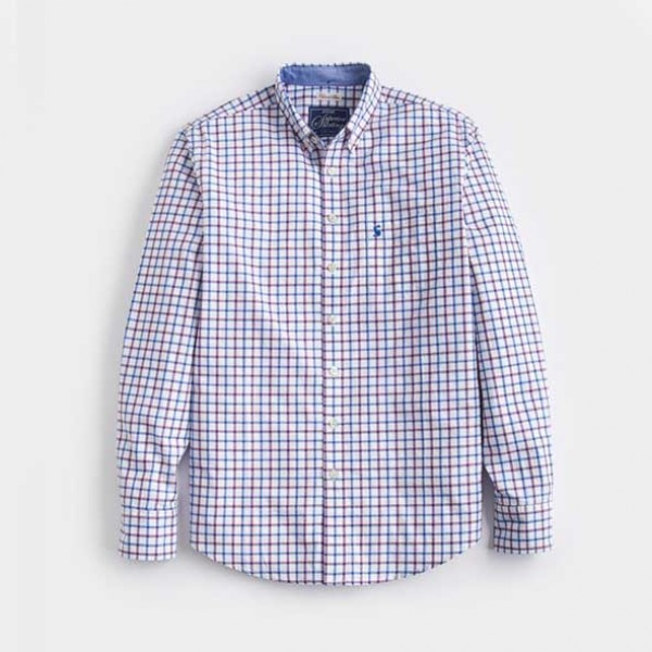 Joules Hensley Slim Fit Poplin Shirt